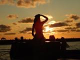 Romantyczny zachód słońca w Ustce. Było naprawdę pięknie (zdjęcia)
