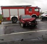 Kolejny wypadek w Kończewicach na feralnym skrzyżowaniu na dk 22 [14.03.2019]. Ranne dwie kobiety [zdjęcia]