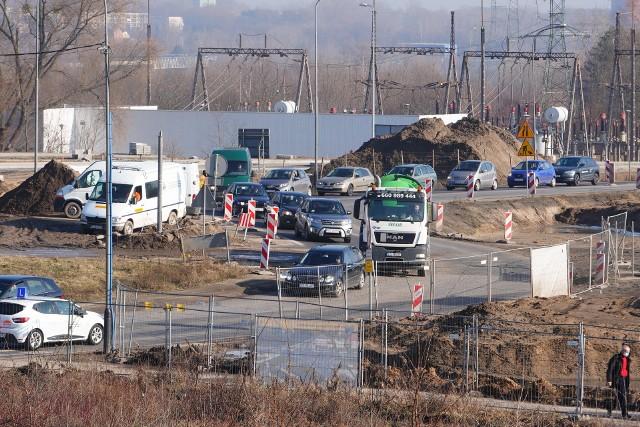 W tym tygodniu wprowadzane są dwie ważne zmiany w organizacji ruchu na budowie tramwaju na Naramowice