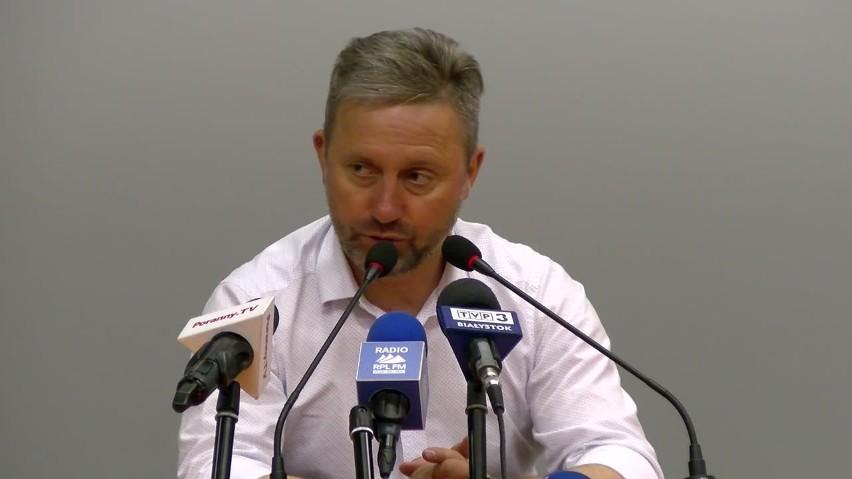 Jerzy Brzęczek po meczu Jagiellonia - Wisła Płock: Za nami fantastyczny sezon. Postawą zasługiwaliśmy na puchary