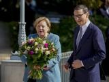 Angela Merkel w Warszawie. Morawiecki: Nasze relacje gospodarcze są bardzo dobre
