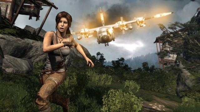 Tomb RaiderTomb Raider - tu już na początku gry Lara Croft wygląda jak Bruce Willis pod koniec Szklanej Pułapki