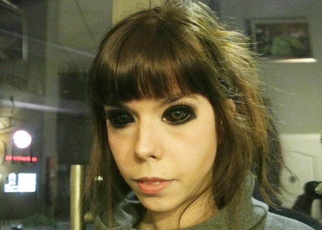 Aleksandra Sadowska, tatuaż, Wroclaw, oczy.