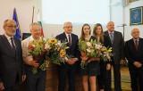 Małgorzata Hołub-Kowalik i prof. Stanisław Michałowski otrzymali Nagrodę Miasta Lublin w dziedzinie sportu