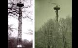 Wieża spadochronowa w Poznaniu. Przez kilkanaście lat jej charakterystyczna sylwetka górowała nad parkiem Sołackim. Zobacz zdjęcia