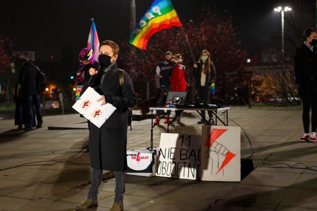 """Strajk kobiet w Szczecinie. """"Nie złożymy parasolek"""""""
