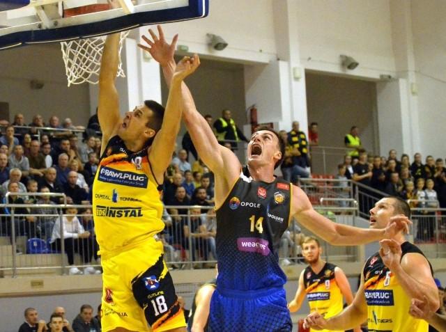 Mariusz Konopatzki zagrał w Poznaniu dobre zawody - był blisko triple-double