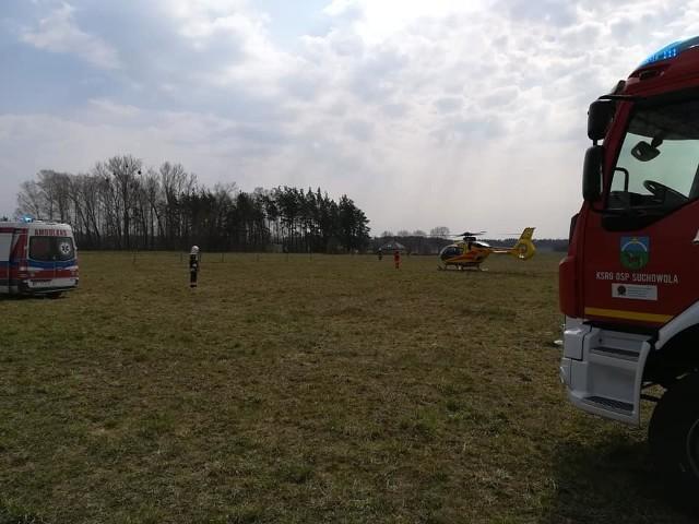 W piątek około południa w Suchowoli doszło do wypadku.