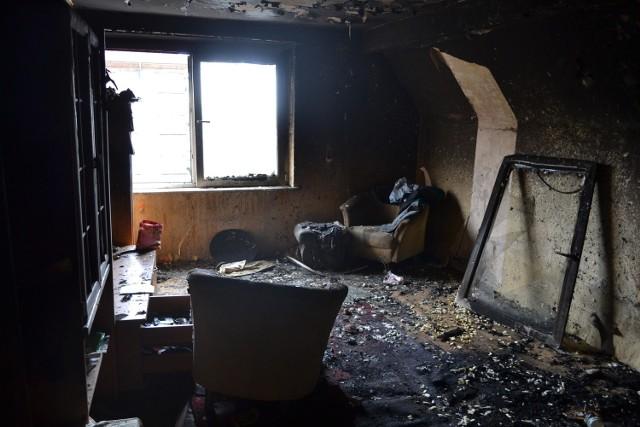 Pożar na Kościuszki w Raciborzu. Mieszkanie do kapitalnego remontu