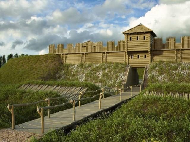 Ruszyła budowa średniowiecznego grodziska w Tumie pod Łęczycą. ZOBACZ ZDJĘCIA DALEJ>>>>