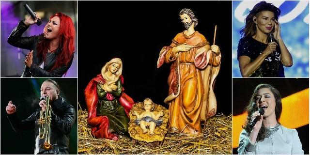 """Boże Narodzenie to czas śpiewania kolęd i pastorałek. Posłuchajcie, jak wykonują je m.in. Edyta Górniak, Eleni, Maryla Rodowicz, Natalia Kukulska, Krzysztof Krawczyk i Anna Maria Jopek. Oto """"Bóg się rodzi"""", """"Cicha noc"""", """"Dzisiaj w Betlejem"""", """"Pójdźmy wszyscy do stajenki"""" oraz inne najpiękniejsze polskie kolędy i pastorałki.Piosenek posłuchasz na kolejnych slajdach ---->"""