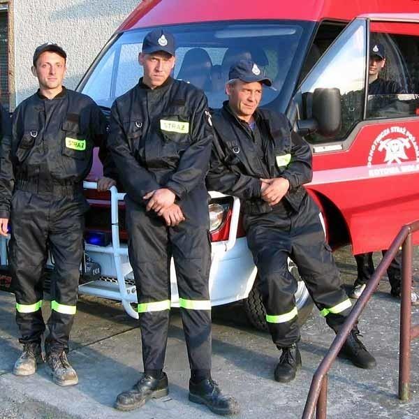 - To wspaniały, noworoczny prezent - cieszą się strażacy z Kotowej Woli.