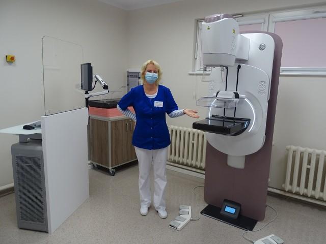 Przychodnia Onkologiczna przy ul. Orlej w Koszalinie zachęca pacjentki do badań.