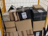 54 paczki z nielegalnym tytoniem znaleziono w sortowni firmy kurierskiej. Ich wartość to 85 tys. zł