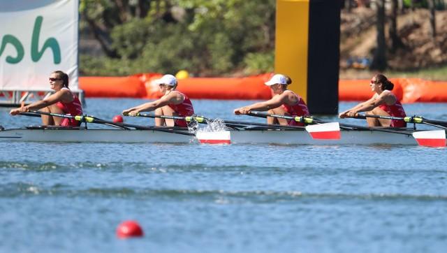 Czwórka podwójna kobiet dwa lata temu w Rio zdobyła olimpijski brązowy medal.