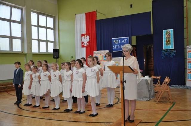 Jubileusz 50-lecia Szkoły Podstawowej nr 189 przy ul. Kossaka w Łodzi