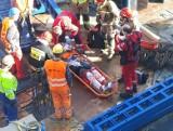 Wypadki przy pracy w Kujawsko-Pomorskiem: Dramat na osiedlu JAR! Robotnik spadł z dachu. Raport wypadków w pracy PIP