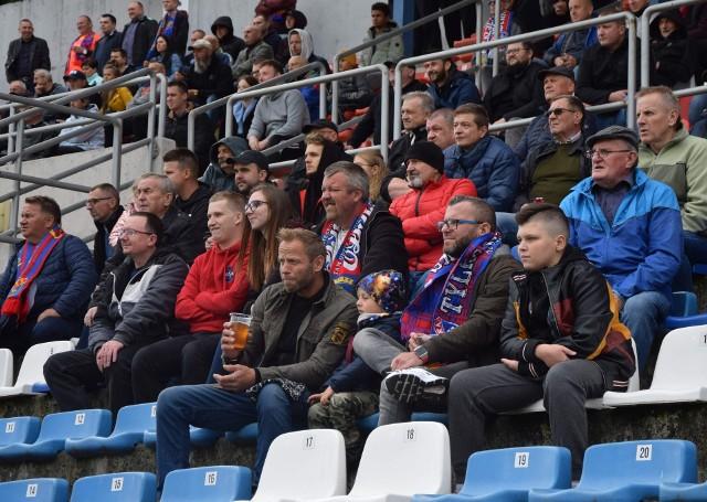 Kibice na meczu Odra Opole - Stomil Olsztyn (2:0)