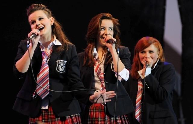 Zosia, Kasia i Dominika z zespołu The Pupils śpiewają o młodzieńczej miłości.