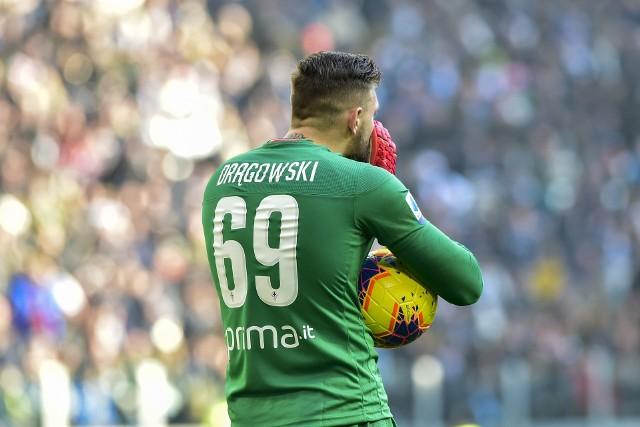 Drągowski nie był w stanie zatrzymać Cristiano Ronaldo.