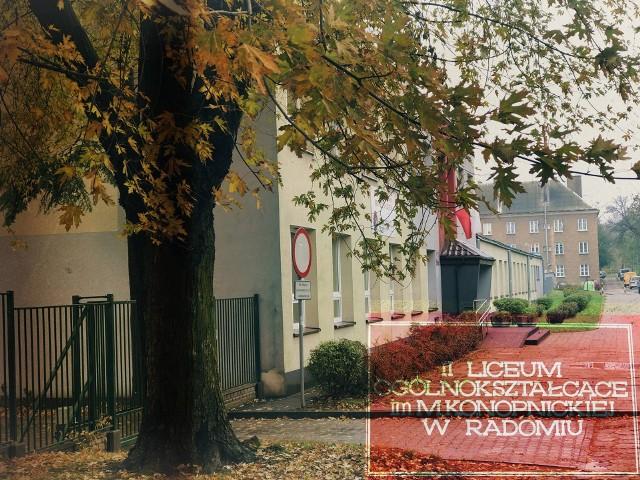 Pięć klas z II Liceum Ogólnokształcącego w Radomiu przeszło na nauczanie zdalne.