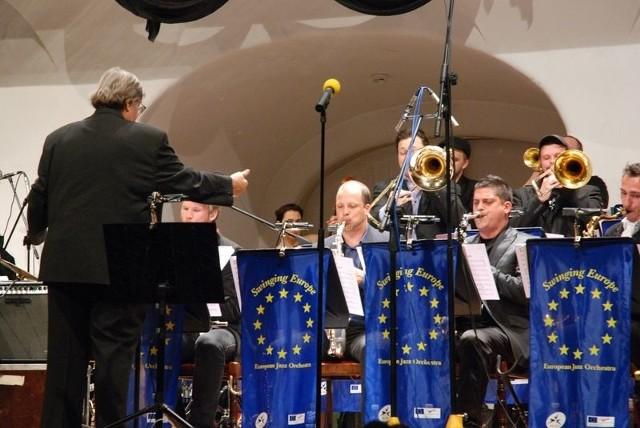 European Jazz OrchestraKoncert na Zamku Ksiąząt Pomorskich.