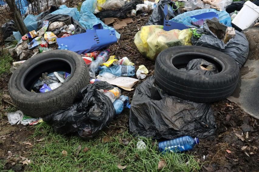Pojawianie się nielegalnych wysypisk odpadów to niemal...