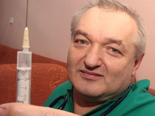 Koordynatorem akcji jest pediatra Kazimierz Antonowicz