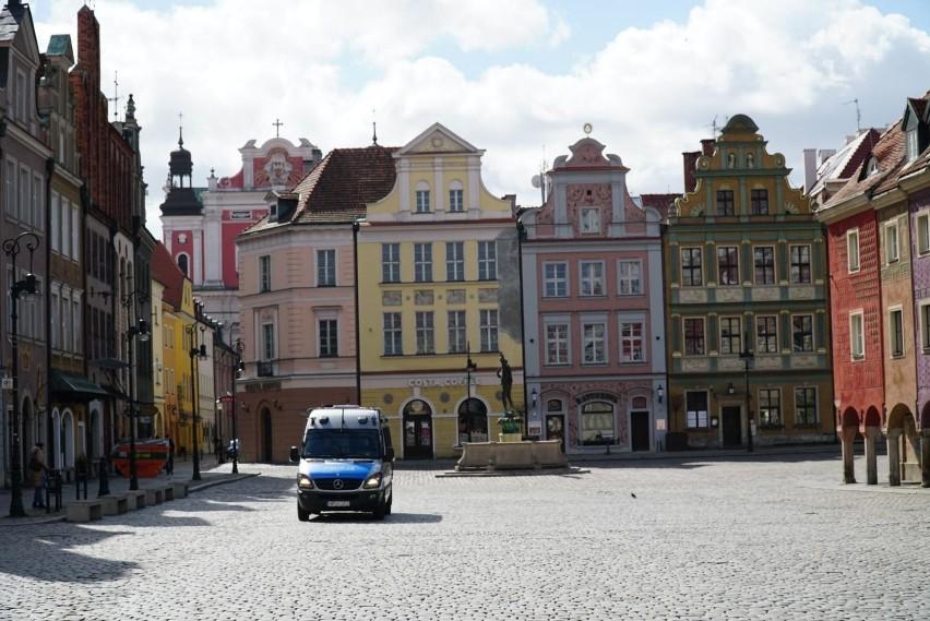 Tak wyglądał Poznań w czasie pierwszego lockdownu w...