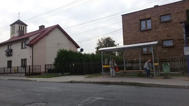 Przystanek Morgi Kościół - tutaj zatrzymuje się autobus nr 162