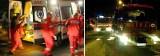 Wypadek w Trzcinicy. Trzy osoby zostały przewiezione do szpitala