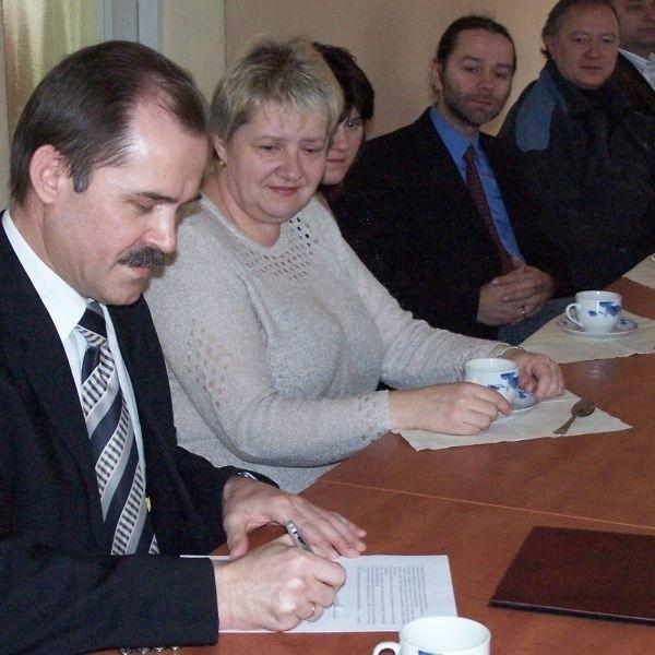 Dotychczasowy zastępca wójta Bałtowa Andrzej Jabłoński będzie startował w wyborach na wójta.