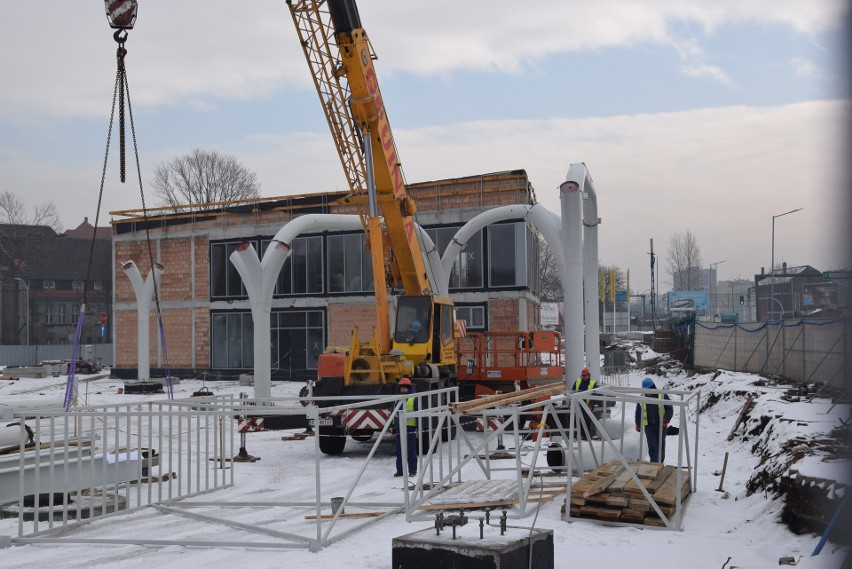 Budowa Centrum Przesiadkowego Sądowa w Katowicach