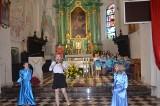 Przedstawienie w kościele uczniów kl. V a SP w Kańczudze, na zakończenie tegorocznego okresu wielkanocnego [ZDJĘCIA INTERNAUTKI]
