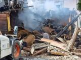 Wąsosz. Pożar drewnianego domu. Dwie rodziny zostały bez dachu nad głową (zdjęcia)
