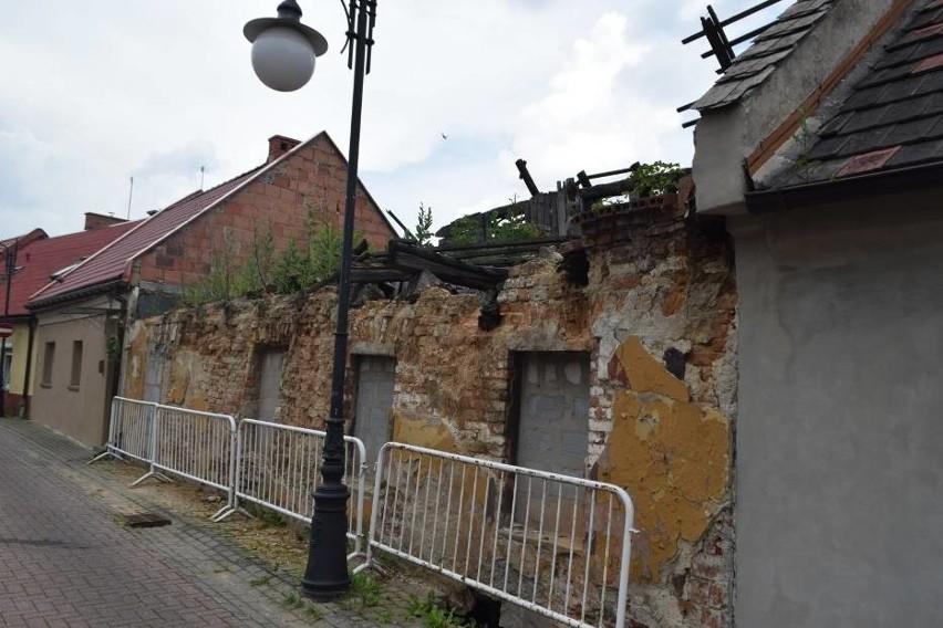 Ulica Murarska w centrum Żor