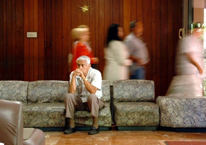 Na spotkania  organizowane przez spółkę przychodzili głównie ludzie starsi.