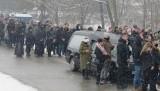 Pogrzeb 23-latka zamordowanego w Krakowie. Dawid spoczął na cmentarzu w rodzinnej Wysokiej koło Wadowic