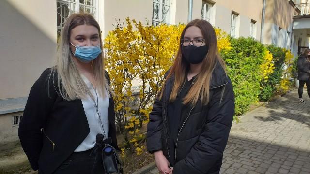 Maturzyści z VI LO w Białymstoku