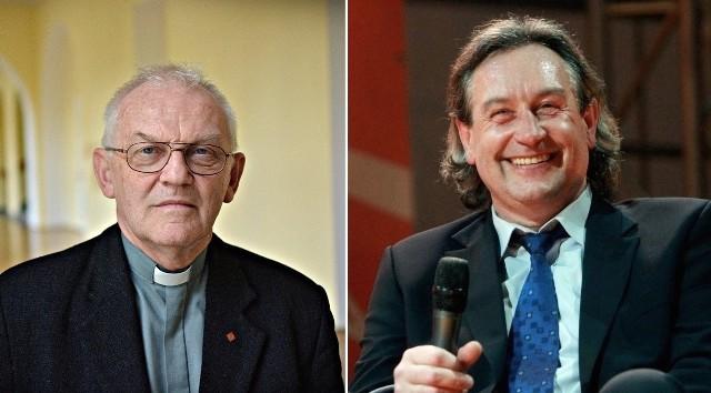 Prof. Andrzej Szostek i Tomasz Wójtowicz
