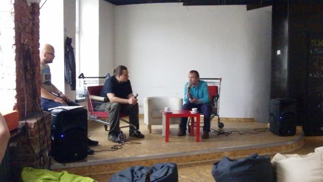 W debacie wzięli udział: Jarosław Kosmatka (z prawej) i Maciej Trojanowski (drugi z prawej)