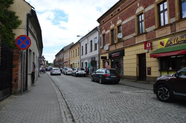 ul. Kościuszki w Myślenicach