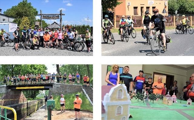 Kruszwicka Grupa Rowerowa była organizatorem wycieczki do Pakości. Cykliści zwiedzili miejscową śluzę na Noteci i Kalwarię Pakoską