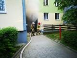 Pożar w Nowym Targu. Mężczyzna naprawiał rower elektryczny, nagle wybuchł pożar. Jest poszkodowany