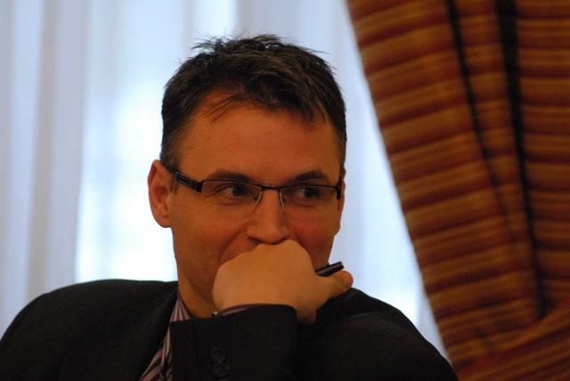 Prezydent Zielonej Góry Janusz Kubicki.
