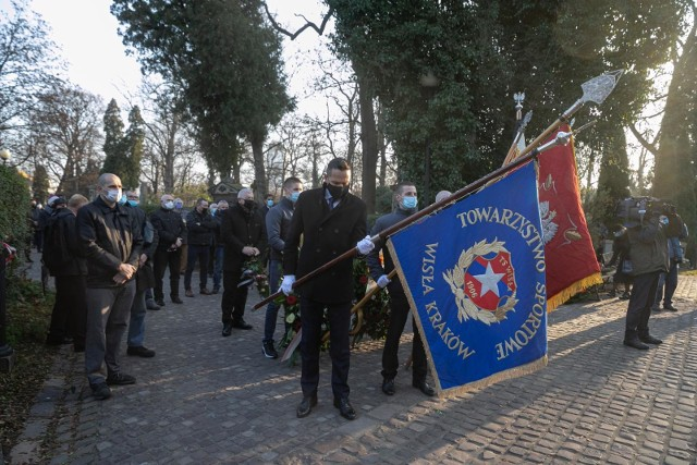 Pogrzeb Teofila Kowalskiego na Cmentarzu Rakowickim w Krakowie