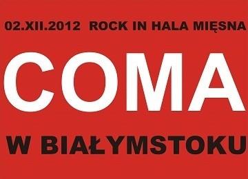 Rock in Hala Mięsna zwieńczy koncert zespołu Coma