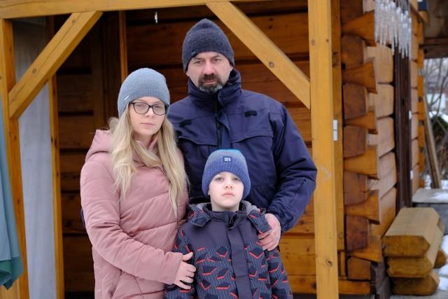 Rodzina chce odbudować swój dom po pożarze