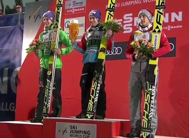 Kamil Stoch 3. w Oberstdorfie