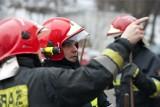 Naramowice: Pożar bloku. Trzy osoby w szpitalu
